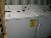 GE WASHER & DRYER PAIR  (see photo) in DeKalb, Illinois