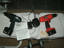 2 Black and Decker 12 volt drills in Westmont, Illinois