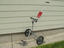 All metal lightweight 2 wheel golf cart in Orland Park, Illinois