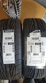 2 NEW GOODYEAR TIRES 215/65/16 in Camp Pendleton, California