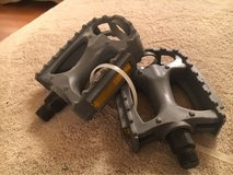 Gray Bike Pedals in Plainfield, Illinois