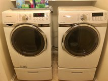 Samsung Washer and Dryer (Gas) in Hemet, California