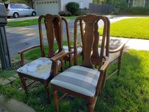 Curb Alert - 4 chairs with arms - 1832 Clyde in Naperville, Illinois