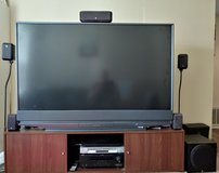 TV & Stand, sound system, Sony DVD player in St. Charles, Illinois
