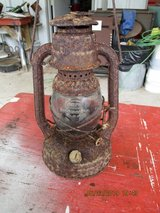 Vintage Dietz Little Wizard Lantern in Fort Polk, Louisiana
