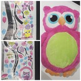 Owl decoration wall stickers in Clarksville, Tennessee