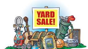 Heritage Meadows Subdivision Yard Sale in Naperville, Illinois