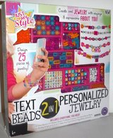 New! Just My Style 2-in-1 Jewelry + Text Beads Kit in Westmont, Illinois