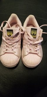 Pink Adidas shoes in Joliet, Illinois