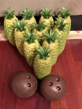 Pineapple Bowling Set in Houston, Texas
