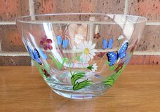 Lenox Butterflies and Blossoms Glass Bowl in Aurora, Illinois