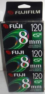 New! Fuji 8mm HQ Video Cassette Tapes ~ 3 Pack in Joliet, Illinois
