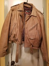 Leather Motorcycle jacket & chaps in The Woodlands, Texas