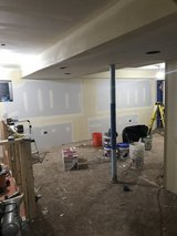 Drywall tile painting taping framing in Naperville, Illinois