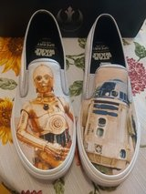 New Men's SPERRY STAR WARS Shoes tennis white droids in El Paso, Texas