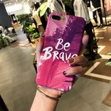 Be Brave Iphone Case in Okinawa, Japan