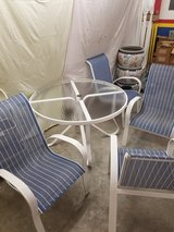 Woodward Patio Set Table and 4 chairs in The Woodlands, Texas