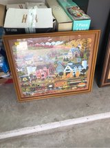 framed puzzle picture in The Woodlands, Texas