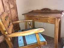 antique desk and chair in Alamogordo, New Mexico