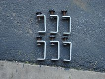 SIX MOUNTING CLAMPS FOR TRUCK CAMPER TOPS. in Bartlett, Illinois