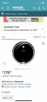 iLife A6 Vacuum Robot in The Woodlands, Texas
