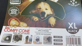 All Four Paws Comfy Cone Dog Collar XL - Black in Naperville, Illinois