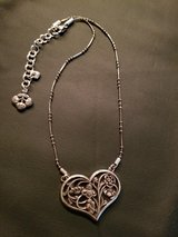 Brighton Reversible Heart Necklace in Conroe, Texas