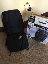 HOMEDICS 5 Motor Seat Massager with Heat. AC home adapter & 12V Auto Adapter! See Photos in St. Charles, Illinois