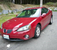 2006 Pontiac Grand Prixx GT in Fort Lewis, Washington