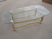 glass coffee table in Hemet, California