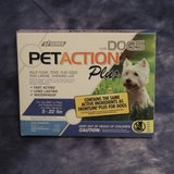 SEALED PETACTION PLUS DOGS NEW! in Travis AFB, California