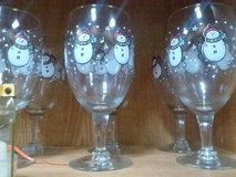 snowman goblets in Fort Campbell, Kentucky