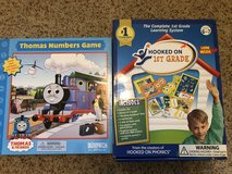 """New """"Hooked on 1st Grade"""" set plus game in Travis AFB, California"""