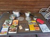 Pressure Cookers Mirro 4 and 8 Quart Plus Accessories and Cookbooks in Westmont, Illinois