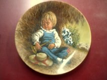 Little Boy Blue, collector plate in Alamogordo, New Mexico