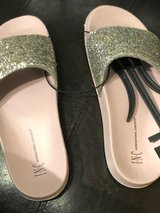 Brand new with tags I.N.C. Pool Slides size Med 7/8 in Westmont, Illinois