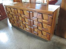 Spectacular MCM Brutalist Bedroom Set, Touch of Tiki in Westmont, Illinois