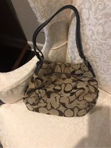 Brown Coach Purse in The Woodlands, Texas