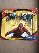 Spider-Man puzzle in Houston, Texas