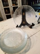 Glass Salad Plates (9) in Conroe, Texas