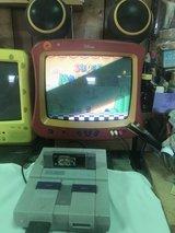 SUPPER NINTENDO,,WORKS GREAT,,TWO CONTROLS,,5 games in Alamogordo, New Mexico