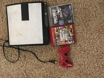PS3 with 2 games in Fort Leonard Wood, Missouri