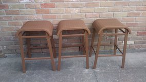 3 metal stools in The Woodlands, Texas