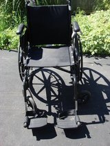 INVACARE BRAND WHEEL CHAIR in Plainfield, Illinois