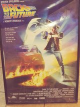 Back to the the Future Poster in Alamogordo, New Mexico
