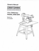 radial arm saw in St. Charles, Illinois