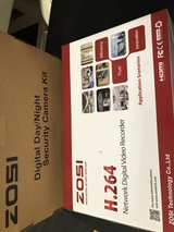 Zosi Security Camera Kit w/ 4 cams and DVR in Westmont, Illinois