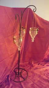 Triple hanging lights - indoors or outdoors with dragonfly accents.  Qty 2 in Kingwood, Texas