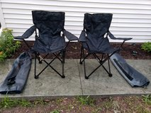 2 folding chairs with carrying cases in Lockport, Illinois