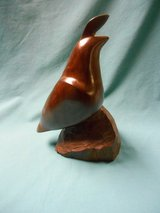 Wooden carved Quail in Palatine, Illinois